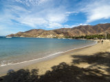 Beach at Taganga  Colombia  South America