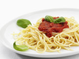 Spaghetti with Tomato Sauce  Italy  Europe