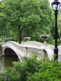 Bow Bridge  Central Park  Manhattan