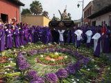 Holy Week Procession  Antigua  Guatemala  Central America