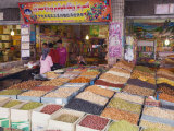 Dried Fruit Being Sold at the Sunday Market  Kashgar City  Xinjiang Provice  China  Asia