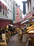 Rue Des Bouchers  Near Grand Place  Brussels  Belgium  Europe