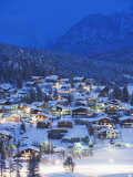 Seefeld Village  the Tyrol  Austria  Europe
