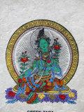 Green Tara  Buddhist Symbol of Prosperity  Kopan Monastery  Bhaktapur  Nepal  Asia
