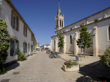Church at La Couarde Sur Mer  Ile De Re  Charente-Maritime  France  Europe