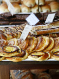 Traditional Danish Pastry at Bager Lucas Bakery in Tonder  Jutland  Denmark  Scandinavia  Europe