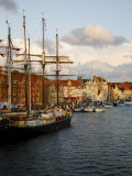 The Port of Sonderborg  Jutland  Denmark  Scandinavia  Europe