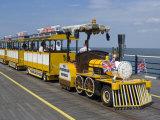 The Promenade Express  the Noddy Train That Runs Along the Pier  Southport  Merseyside