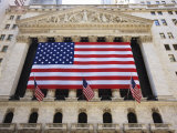 The New York Stock Exchange  Broad Street  Wall Street  Manhattan