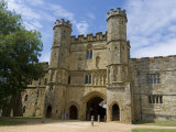 Main Entrance and Gatehouse  Battle Abbey  Battle  Sussex  England  United Kingdom  Europe