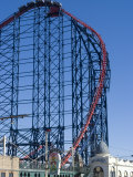 The Big One  the 235Ft Roller Coaster  the Largest in Europe  at Pleasure Beach