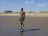 One of the 100 Men of Another Place  also known as the Iron Men  Statues by Antony Gormley