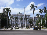 Parque Central and Hotel Inglaterra  Havana  Cuba  West Indies  Central America