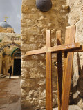 Stations of the Cross on Via Dolorosa  Old City  Jerusalem  Israel  Middle East