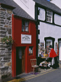 The Smallest House in Britain  on the Quayside at Conwy