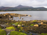 View across Brodick Bay to Goatfell  Brodick  Isle of Arran  North Ayrshire
