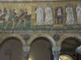 Mosaic Depicting the Three Kings Bringing Gifts to the Holy Child  Ravenna