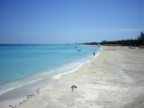 Beach Scene  Varadero  Cuba  West Indies  Central America
