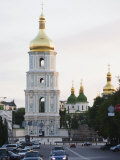 Bell Tower of St Sophia's Cathedral Built Between 1017 and 1031  Kiev  Ukraine