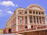 Opera House  Manaus  Amazonas  Brazil  South America