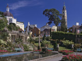 Portmeirion Village  Created by Sir Clough Williams-Ellis Between 1925 and 1972  Porthmadog