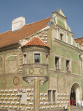 Renaissance Building at Zachariase Z Hradce Square  Telc  Jihlava Region  Czech Republic  Europe