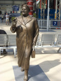 Statue by Tom Murphy of Bessie Braddock  Noted Member of Parliament for Liverpool