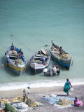 Unloading the Morning's Catch of Fish  Dhanushkodi  Tamil Nadu  India  Asia
