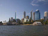 City Centre from the Swan River  Perth  Western Australia  Australia  Pacific