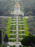 Shrine of the Bab  Bahai Gardens  Haifa  Israel  Middl Eeast