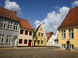 The Historic Part of Aabenraa  Jutland  Denmark  Scandinavia  Europe