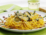 Spaghetti with Zucchini  Italy  Europe