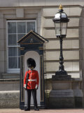 Sentry Duty at Buckingham Palace  London  England  United Kingdom  Europe