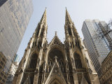St Patrick's Cathedral  5th Avenue  Manhattan