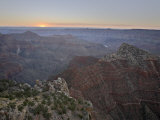 Sunrise at Cape Royal  North Rim  Grand Canyon National Park  Arizona