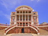Opera House  Manaus  Amazonas  Brazil  South America