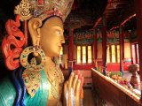 The Huge 15 Metre High Statue of Maitreya Buddha