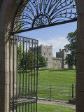 Through the Garden Gate  Raby Castle  Staindrop  County Durham  England  United Kingdom  Europe
