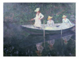 Boat the 'Norvegienne' at Giverny  France  c 1887