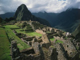 Machu Picchu  Sacred City of the Incas  built 1438-71  Cuzco  Peru