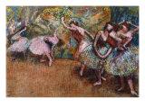Ballerinas Dancing  c 1870s