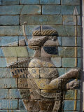 Archer  from Frieze of the Archers  Polychrome Glazed Brick  5th century BC