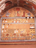 Fields of Yaru  Fresco  Tomb of Sennedjem  19th dynasty  Deir El Medina  Thebes