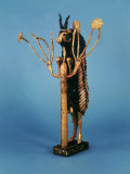 Goat in Thicket  Statuette of Gold  Copper  Lapis Lazuli  Red Limestone and Shell  Sumerian Ur