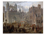 Henry II  1519-59 King of France  entering Metz  France  18 April 1552