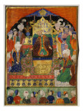 Court Scene from Shahnama  14th century Iran Timurid Period