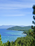 Lake Tahoe Scene  California  United States of America  North America