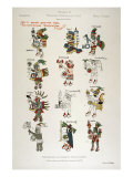 Aztec Gods from the Florentine codex