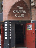 The Cavern Club  Matthew Street  Liverpool  Merseyside  England  United Kingdom  Europe