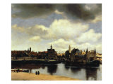 View of Delft  1658-60